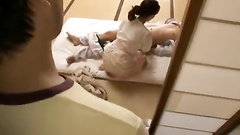 Awesome Japanese milf gets harassed during massage
