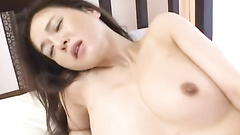 Passionate Japanese lady gives herself to a guy