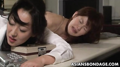 Girls getting punished by the anal penetration