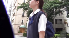 Public Japanese pissing was spied on the camera