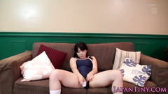 Yummy tight Japanese girl is getting messed up in nasty cumshots