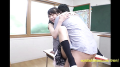 Japanese school girl Hoshisaki Seira enjoys hardcore fuck with teacher